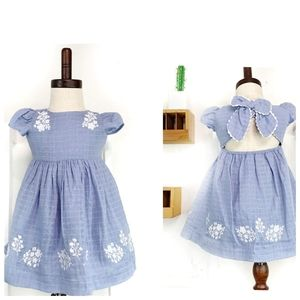Artisan NY Embroidered Occasion Dress 12 Months